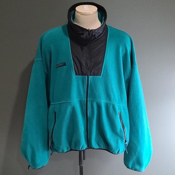 Vintage Columbia Full-zip Fleece